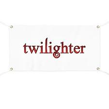 Twilighter Red Twilight Movie Book Banner