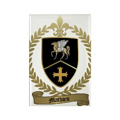 MATHIEU Family Rectangle Magnet (100 pack)