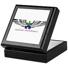 Autism Awareness - Wings Keepsake Box