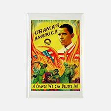 "Obama Commie Apocalypse ""Obam Rectangle Magne"