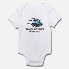 Dad's Police Car Infant Bodysuit