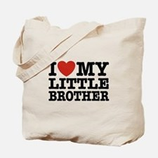 I Love My Little Brother Tote Bag