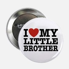 """I Love My Little Brother 2.25"""" Button"""