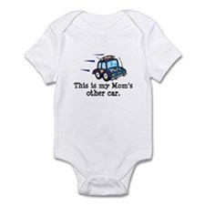 Mom Is A Cop Infant Bodysuit