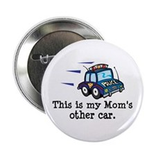 """Mom Is A Cop 2.25"""" Button"""