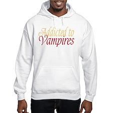 Addicted to Vampires Twilight Fan Jumper Hoody