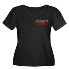Addicted to Vampires Twilight Fan T