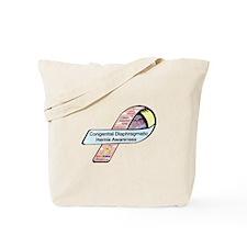 Colleen Kara-Ann Hyde CDH Awareness Ribbon Tote Ba