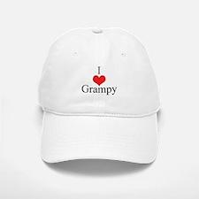 I Love (Heart) Grampy Baseball Baseball Cap