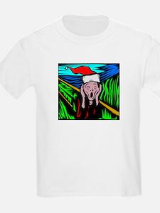 The Christmas Scream Kids T-Shirt