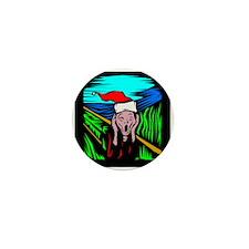 The Christmas Scream Mini Button