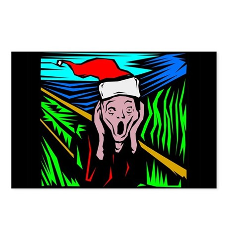 The Christmas Scream Postcards (Package of 8)