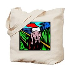 The Christmas Scream Tote Bag