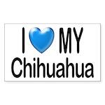 My Chihuahua Rectangle Sticker