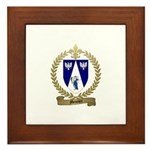 MEUNIER Family Crest Framed Tile