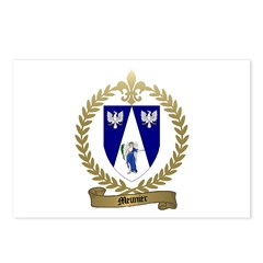 MEUNIER Family Crest Postcards (Package of 8)