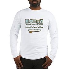 Grampy of Gifted Grandchildren Long Sleeve T-Shirt