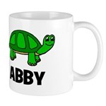 Abby - Customized Turtle Desi Mug
