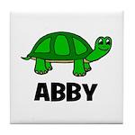 Abby - Customized Turtle Desi Tile Coaster