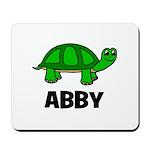 Abby - Customized Turtle Desi Mousepad