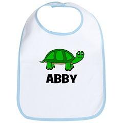 Abby - Customized Turtle Desi Bib