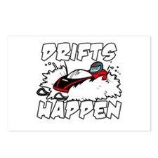 Drifts Happen Postcards (Package of 8)