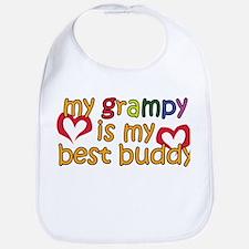 My Grampy is My Best Buddy Bib