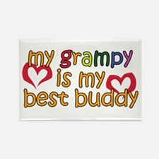My Grampy is My Best Buddy Rectangle Magnet