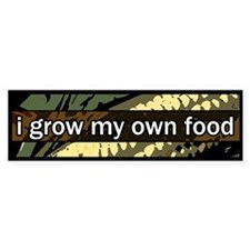 grow local Bumper Bumper Sticker