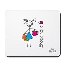 Shopaholic Mousepad