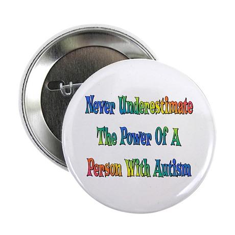 """Autism Power 2.25"""" Button"""
