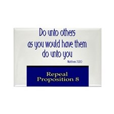 Repeal Prop 8 Rectangle Magnet