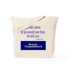 Repeal Prop 8 Tote Bag