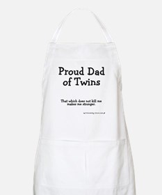 Proud Dad of Twins - Stronger BBQ Apron