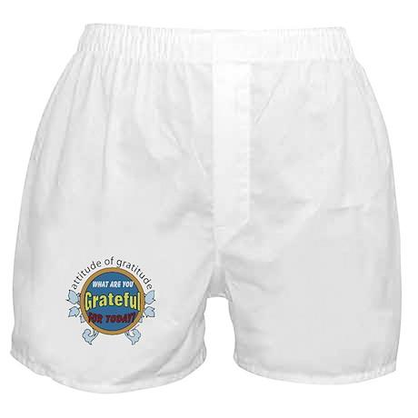 Atttitude of Gratitude Boxer Shorts