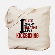 Bleed Sweat Breathe Kickboxing Tote Bag