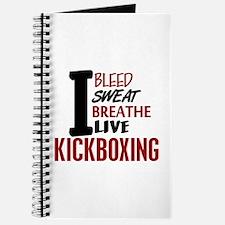 Bleed Sweat Breathe Kickboxing Journal
