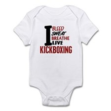 Bleed Sweat Breathe Kickboxing Infant Bodysuit