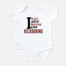 Bleed Sweat Breathe Kickboxing Infant Bodysuit