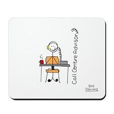 Call Centre Advisor Mousepad