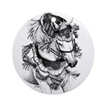 Arabian Horse Ornament (Round)