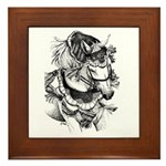 Arabian Horse Framed Tile