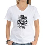 Arabian Horse Women's V-Neck T-Shirt