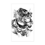 Arabian Horse Rectangle Sticker