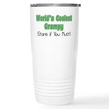 World's Coolest Grampy Travel Mug
