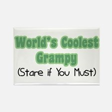 World's Coolest Grampy Rectangle Magnet