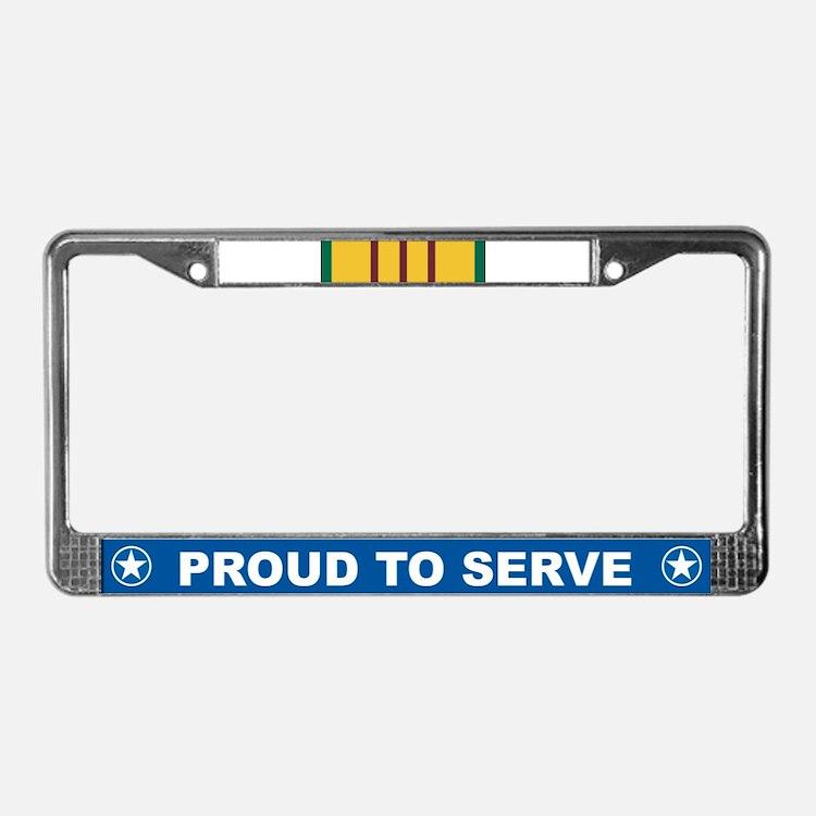 Vietnam Service License Plate Frame