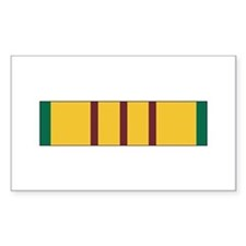 Vietnam Service Rectangle Decal