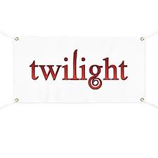 Twilight Red Movie Book Fan Banner