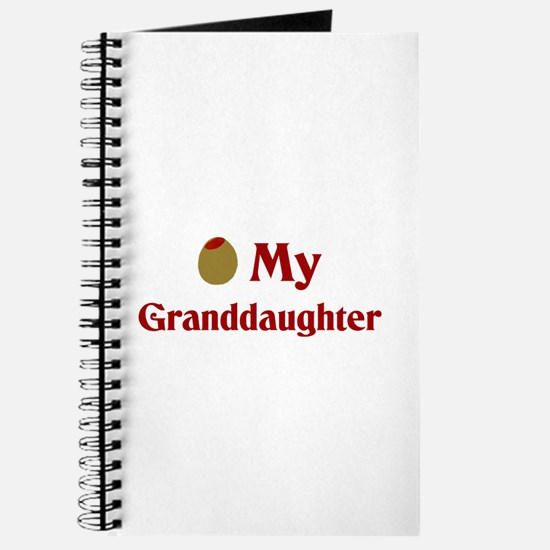 Olive (I Love) My Granddaughter Journal